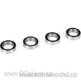 Steering Bearing Set, 10x15x4mm (4): 5TT (LOSB5970)