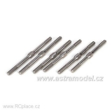 Titanium Turnbuckle Set (6): 5T (LOSB5910)