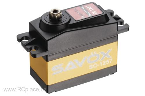 SC-1257TG digital servo coreless mot. 52g (10,0kg/.07sec)