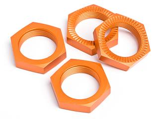 Matice kola 24mm (ORANGE/4ks) (HPI87494)